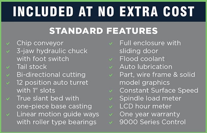 SL6 Standard Features